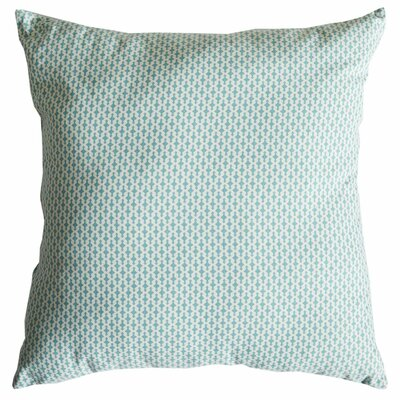 Dash Motifs Cotton Throw Pillow