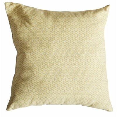 Hand Motif Cotton Throw Pillow