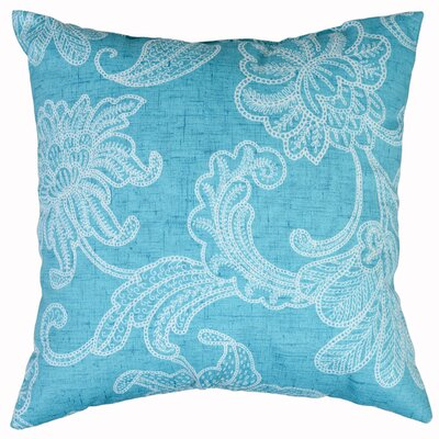 Ellie Throw Pillow Color: Ocean