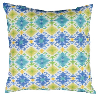 Stefan Throw Pillow Color: Lagoon