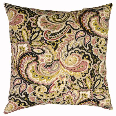 Maxime Throw Pillow Color: Mulberry