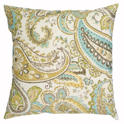 Hadia Throw Pillow Color: Mineral