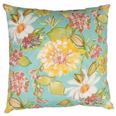 Pierette Throw Pillow Color: Fiji