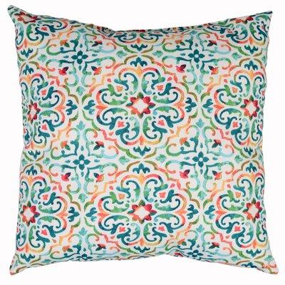 Reina Throw Pillow Color: Opal