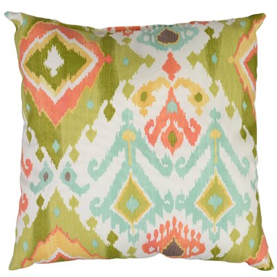 Calais Throw Pillow Color: Grasshopper