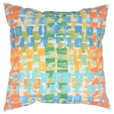 Quibble Throw Pillow Color: Sunsplash