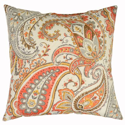 Hadia Throw Pillow Color: Sunset