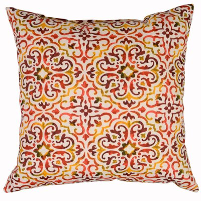 Reina Throw Pillow Color: Sunset
