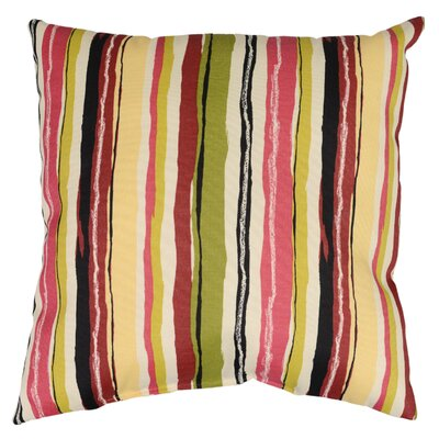 Sigmund Throw Pillow Color: Blackberry