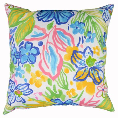 Valeda Throw Pillow Color: Bluebell