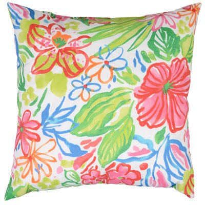 Valeda Throw Pillow Color: Island