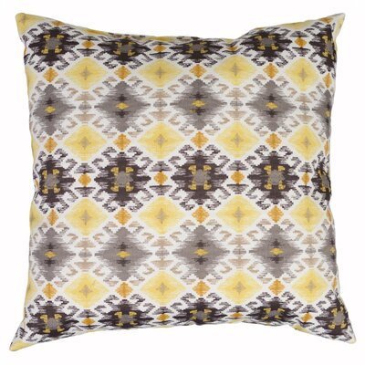 Stefan Throw Pillow Color: Gold Ruins
