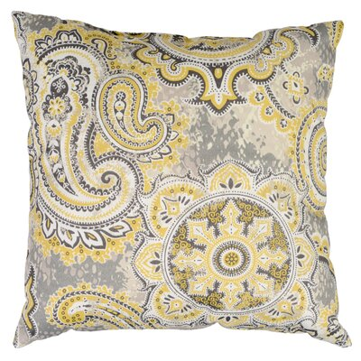 Allouez Throw Pillow Color: Goldrush