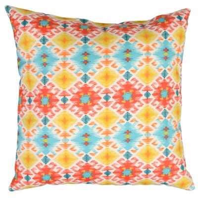 Stefan Throw Pillow Color: Bahama