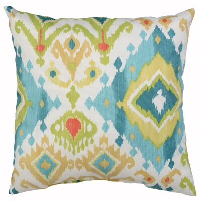 Calais Throw Pillow Color: Surf