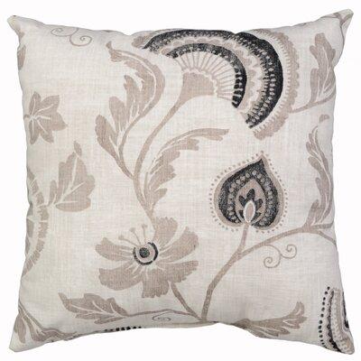 Mauritius Cotton Throw Pillow Color: Raffia