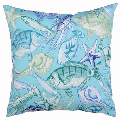 Keyisle Throw Pillow Color: Lagoon
