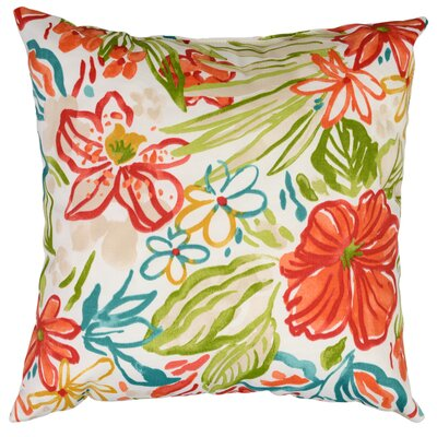 Valeda Throw Pillow Color: Breeze