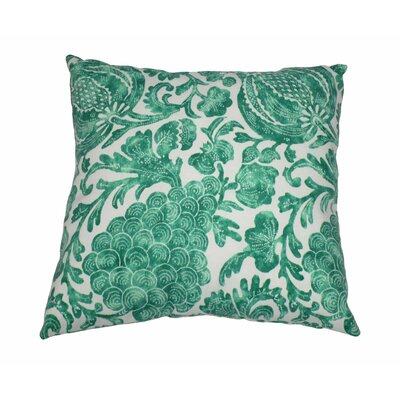 Batik Outdoor Throw Pillow