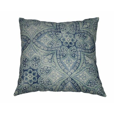 Alfresco Cotton Throw Pillow Color: Blue