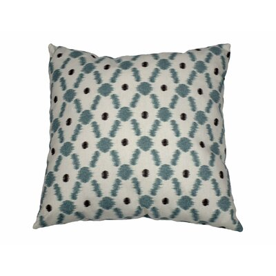 Konya Cotton Throw Pillow Color: Pond