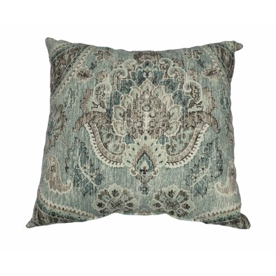 Plazzo Cotton Throw Pillow Color: Geyser