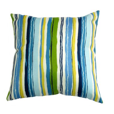 Sigmund Throw Pillow Color: Caribbean
