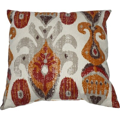 Matador 100% Cotton Throw Pillow Color: Sienna