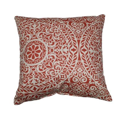 Tachenda Throw Pillow Color: Mango