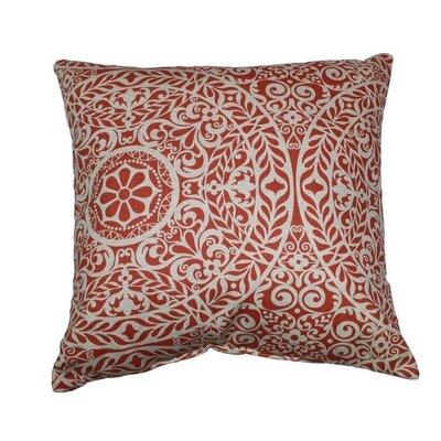 Tachenda Throw Pillow Color: Mango