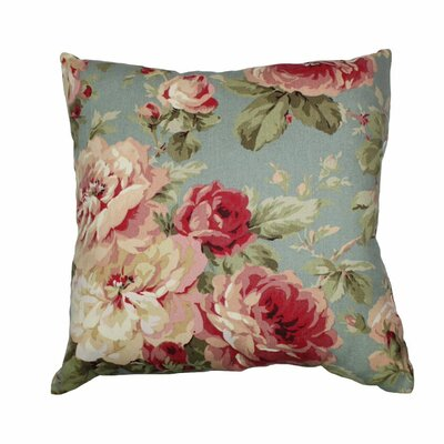 Queen 100% Cotton Throw Pillow Color: Summer