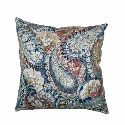 Zen Paisley Throw Pillow