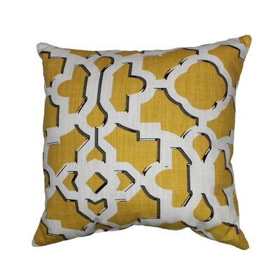 Artego 100% Cotton Throw Pillow Color: Soleil