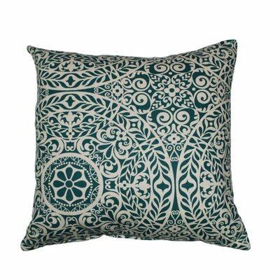 Tachenda Throw Pillow Color: Teal