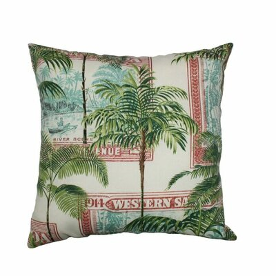 Keybiscayne Throw Pillow