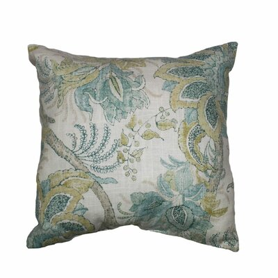 Dartmouth Linen Throw Pillow Color: Mineral