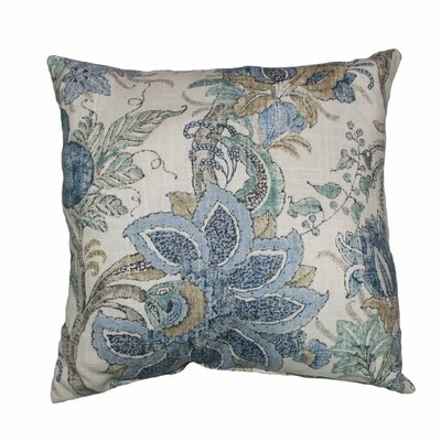Dartmouth Linen Throw Pillow Color: Chambray