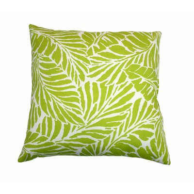 Malkus Outdoor Throw Pillow Color: Pear