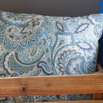 Maxime Throw Pillow Color: Aquarius