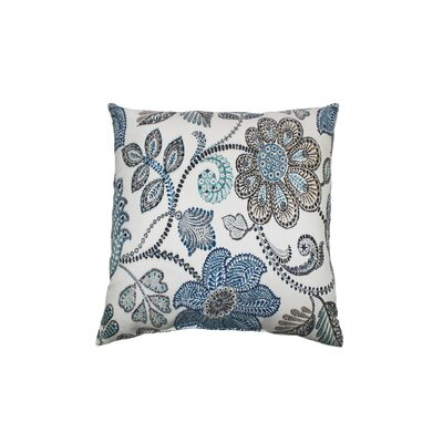 Busan Outdoor Throw Pillow Color: Denim