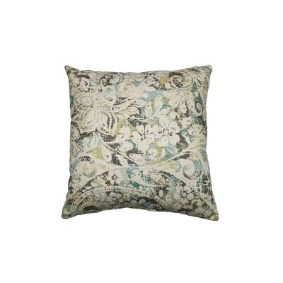 Vancleve Cotton Throw Pillow Color: Seafoam
