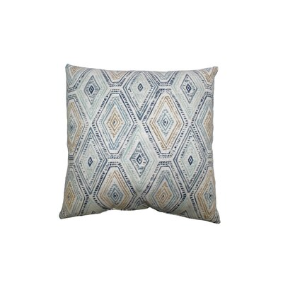 Ricochet Cotton Throw Pillow Color: Bluestone