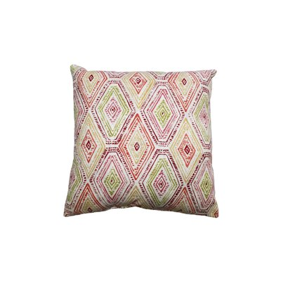 Ricochet Cotton Throw Pillow Color: Masala