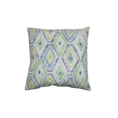 Ricochet Cotton Throw Pillow Color: Nile