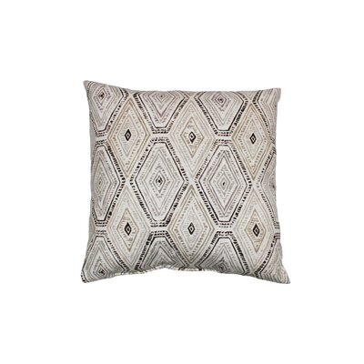 Ricochet Cotton Throw Pillow Color: Sahara