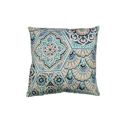 Calista Throw Pillow Color: Denim