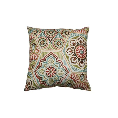 Calista Throw Pillow Color: Opal