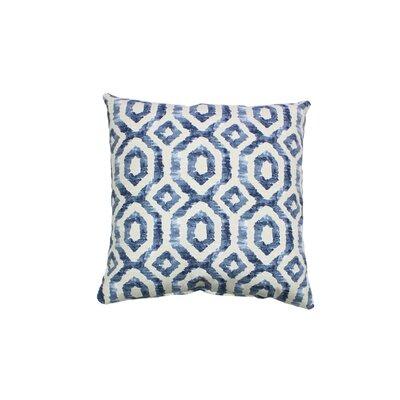Cavray 100% Cotton Throw Pillow Color: Indigo