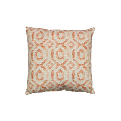 Cavray 100% Cotton Throw Pillow Color: Nectar