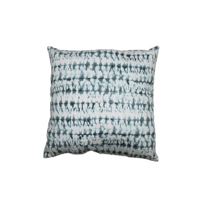 Pembroy 100% Cotton Throw Pillow Color: Aqua